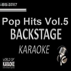 Pop Hits Vol.5 – Karaoke Playbacks – BS 3717 - CD-Front -