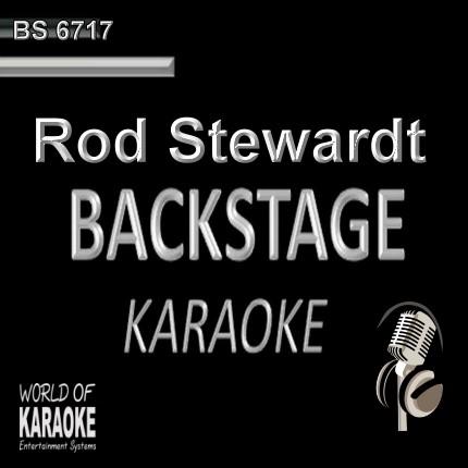 Rod Stewart - Pop Karaoke Songs - CD G BS6717 - CD-Front-Ansicht -