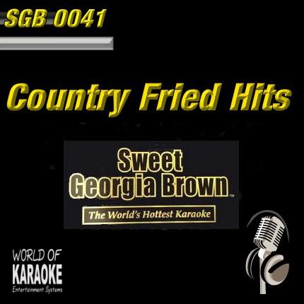 Sweet Georgia – SGB0041 – Classic Country – Karaoke Playbacks - CD-Front
