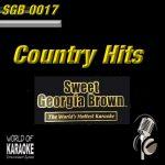 Sweet Georgia Brown Karaoke - SGB0017 - Country Deluxe für Deine Playback-Party