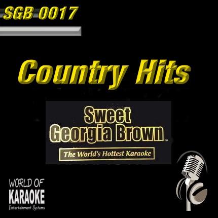 Album-Front-Sweet Georgia Brown – SGB0017 – Country Hits – Karaoke Playbacks
