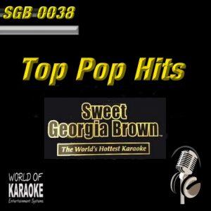 Sweet Georgia Brown – SGB0038 – Super-Pop-Hits – Karaoke Playbacks - CD-Front-Ansicht
