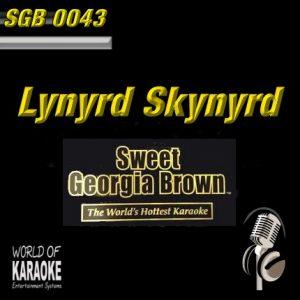 Sweet Georgia Brown Karaoke - SGB0043 - Lynyrd Skynyrd - Frontansicht CD