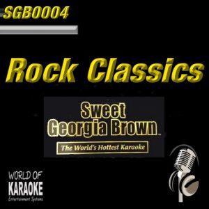 Sweet Georgia Brown - SGB0004 – Top-Classic-Rock – Karaoke Playbacks - Album Front