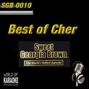 Sweet Georgia Brown - SGB0010 – Best of Cher – Karaoke Playbacks - Album-Front-