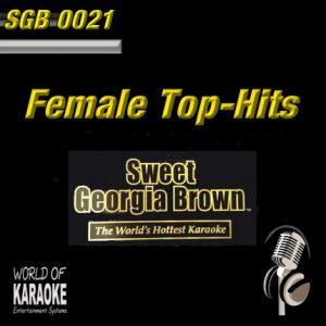 Sweet Georgia Brown - SGB0021 – Female Hits – Karaoke Playbacks - Frontansicht