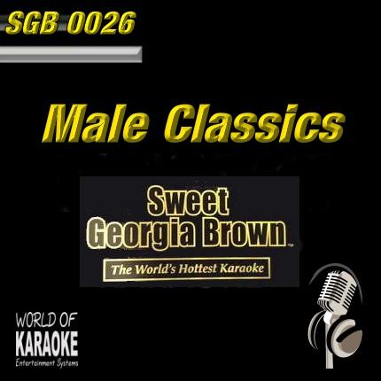 CD-Front-Sweet Georgia Brown - SGB0026 – Male Classics – Karaoke Playbacks