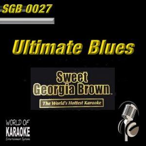 Front-Bild-Sweet Georgia Brown - SGB0027 – Ultimate Blues – Karaoke Playbacks