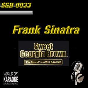 Sweet Georgia Brown - SGB0033 – Frank Sinatra – Karaoke Playbacks - Front-Ansicht-CD