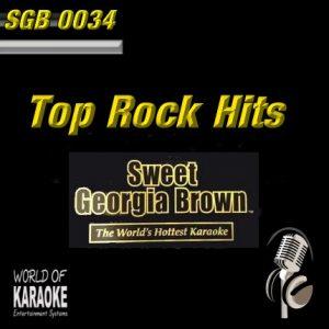 Sweet Georgia Brown - SGB0034 – Standards – Karaoke Playbacks - CD-Frontansicht