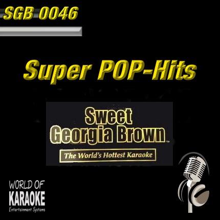 Sweet Georgia Brown - SGB0046 – Super Pop – Karaoke Playbacks - CD-Front-