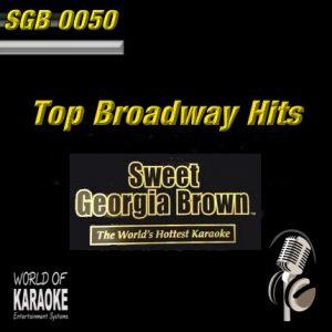 Sweet Georgia Brown - SGB0050 – Broadway Hits– Karaoke Playbacks - CD-Ansicht-