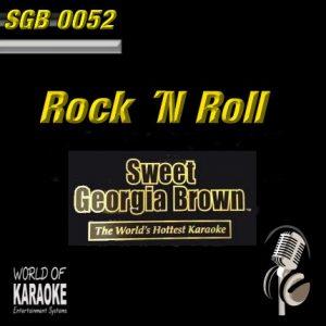 Sweet Georgia Brown - SGB0052 – Rock ´N Roll – Karaoke Playbacks