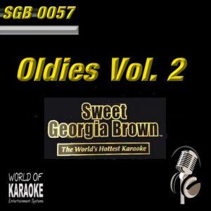 Sweet Georgia Brown - SGB0056 – Oldies Vol. 2 – Karaoke Playbacks - Album Front