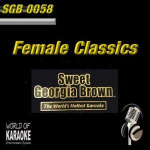 Sweet Georgia Brown - SGB0058 - Female Superhits – Karaoke Playbacks - Album Front-