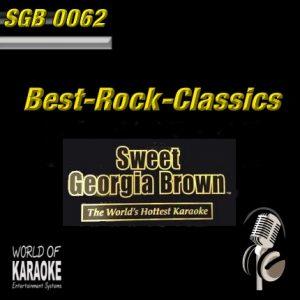 Sweet Georgia Brown - SGB0062 – Best of Rock Classics - Album Front-