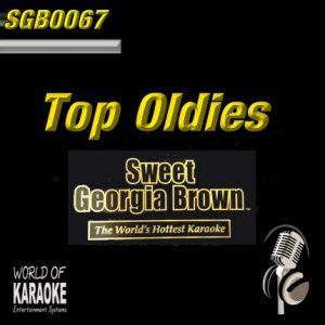 Sweet Georgia Brown - SGB0067 – Top-Oldies – Karaoke Playbacks - Album Front-