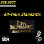 Sweet Georgia Brown - SGB0037 – Standards – Karaoke Playbacks