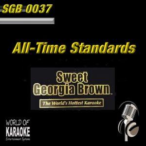 Sweet Georgia - SGB0037 – Standards – Karaoke Playbacks - CD-Front-Cover