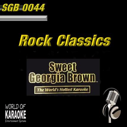 Sweet Georgia - SGB0044 – Rock Classics - Playbacks
