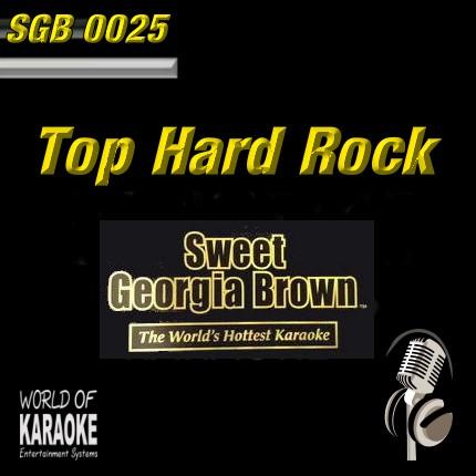 Swett Georgia SDB0025 – Top Hard Rock – Karaoke Playbacks - Front-Bild -