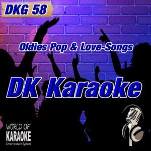 DKG-58 – DK Karaoke – Karaoke-Playbacks - CD-Front
