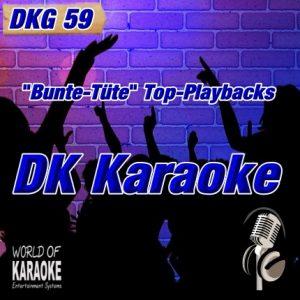 DKG-59 – DK Karaoke – Karaoke-Playbacks - Front-CD-
