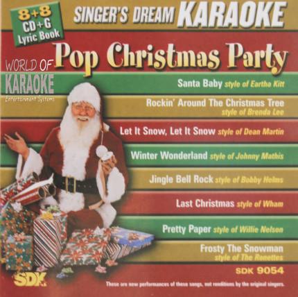 Pop Christmas Party – SDK 9054 – Karaoke Playbacks - AlbumCover