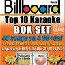 Billboard Top 10 Vol. 2 - 4 CD+ G Set - Karaoke Playbacks