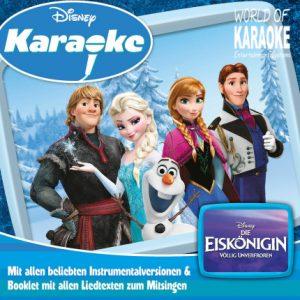 Disney Karaoke Series - Die Eiskönigin - Völlig unverfroren (Frozen) - Playbacks - CD-Front