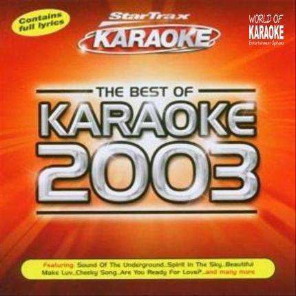Karaoke-Playbacks – Karaoke 2003 – Best Of Playbacks - CD-Front