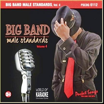 Karaoke Playbacks – PSCD 6112 – Big Band Male Standards Vol. 4 - CD-Front