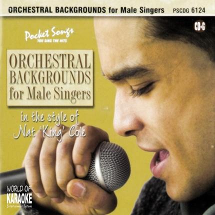 Karaoke Playbacks – PSCD 6124 – Orchestral Backgrounds Nat King Cole - CD-Front