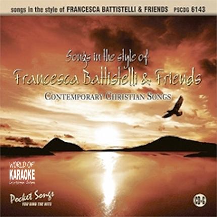 Karaoke Playbacks – PSCD 6143 – Francesca Battistelli & Friends - CD-Frontbild