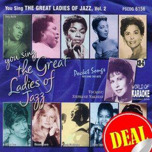 Karaoke Playbacks – PSCD 6156 – Great Ladies of Jazz Vol. 2 - CD-Front