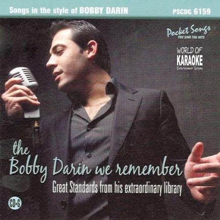 Karaoke Playbacks – PSCD 6159 – Bobby Darin We Remember - CD-Front