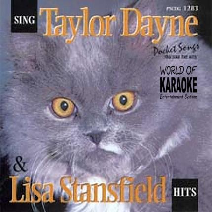 Karaoke Playbacks – PSCDG 1283 – TAYLOR DANE & LISA STANSFIELD - CD-Front
