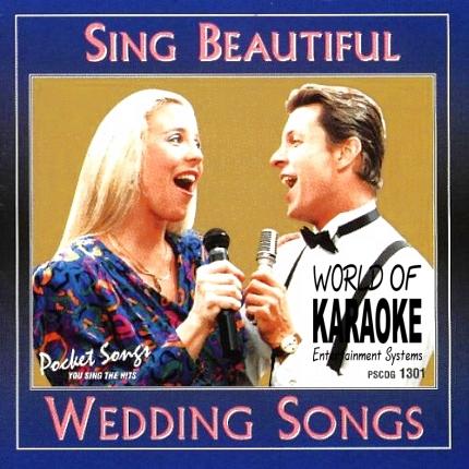Karaoke Playbacks – PSCDG 1301 – SING BEAUTIFUL WEDDING SONGS - CD-Front