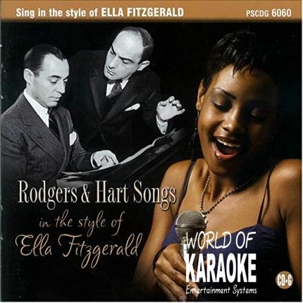 Karaoke Playbacks – PSCDG 6060 – Ella Fitzgerald Sings Rodgers & Hart Songs