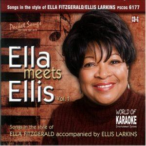 Karaoke Playbacks – PSCDG 6177 – Ella Meets Ellis Vol. 1 - Cover