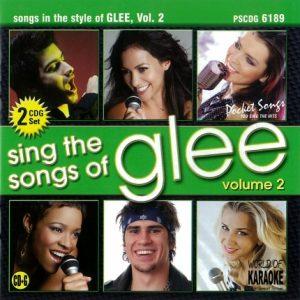 Karaoke Playbacks – PSCDG 6189 – Songs Of GLEE Vol. 2 - CD-Front