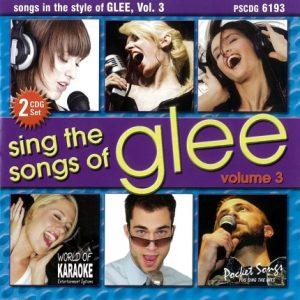 Karaoke Playbacks – PSCDG 6193 – Songs Of GLEE Vol. 3