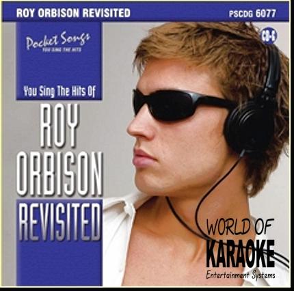 Karaoke-Playbacks - PSCD6077 – Roy Orbison - Revisited - CD-Front