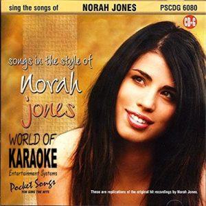 Karaoke Playbacks - PSCD6080 – Songs of Norah Jones - Front der CD