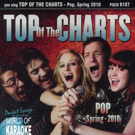 Karaoke Playbacks - PSCDG6187 – Top of the Charts - 2010 -