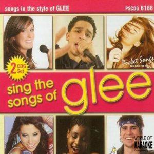 Karaoke Playbacks - SING THE SONGS OF GLEE Vol. 1 – PSCDG 6188 - CD-Front