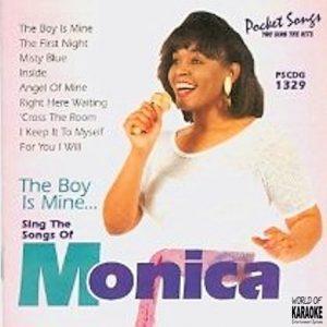 Monica - Boy Is Mine - PSCDG 1329 - Karaoke Playbacks - CD-Front