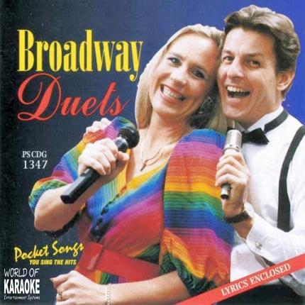 Pocket Songs CD+G - Broadway Duets – PSCDG 1347 - Playbacks
