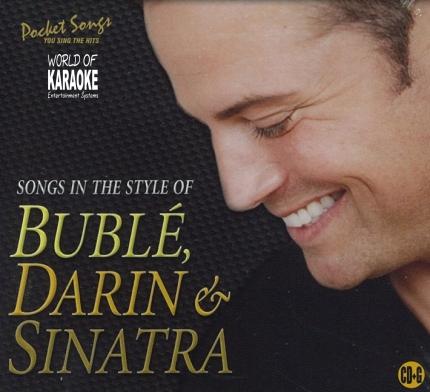 Pocket Songs Karaoke - PSCDG 6182 - Michael Buble, Darin und Sinatra Playbacks - CD-Front