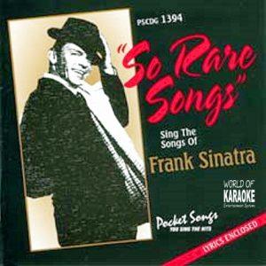 Rare Songs - PSCDG 1394 - Front der CD - Karaoke Playbacks